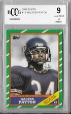 1986 TOPPS BCCG 9 WALTER PAYTON