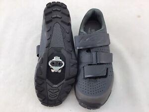 Shimano SHME201W Gray Leather Cycling Shoes Euro 38/U.S 6.5 K1376