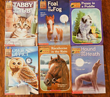 Animal Ark Chapter Books, Lot of 6, Scholastic, Racehorse, Puppy, Owl in Office