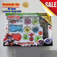 Beyblade Top Fusion Metal Master Fight Rapidity Rare Launcher Set Kids Toys