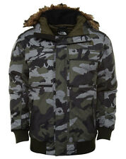 North Face Gotham II Mens CYK7-F1S Green Camo Insulated Down Jacket Size L