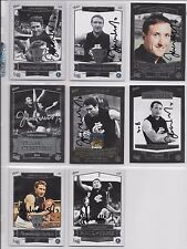 CARLTON HALL OF FAME 8 CARD SET (COMPLETE) SIGNED BY JOHN NICHOLLS
