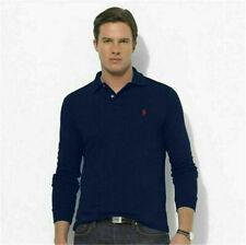 2020 Man's Ralph Lauren Casual Business Polo T-shirt Long Sleeve Fit Cotton New