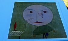 Paul Klee Poster Reprint of Error on Green 18x17  Offset Lithograph