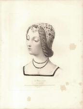 LAURA DE NOVES DE SADE Petrarca Canzoniere - Incisione Originale