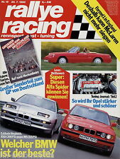 Rallye Racing 15/90 1990 Aston Martin Virage BMW 850i M5 Jacques Lafitte Camel