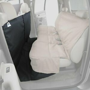 For Ford F-150 15-19 Polycotton CoverAll Rear Row Gray Seat Protector