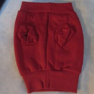 CASUAL CANINE Dog Sweatshirt Extra Small Red Grey or Navy Blue XS