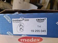 GROHE 19255045 Grohtherm 3000 Feininstallation Finishing Trim Set ONLY, Chrome