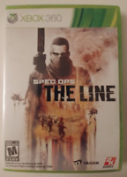 SPEC OPS - THE LINE XBOX 360 BRAND NEW & SEALED