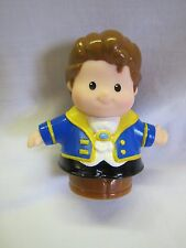 NEW Fisher Price Little People Disney PRINCE ADAM Interactive CASTLE for BELLE