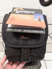 LOWEPRO REZO 120 AW DIGITAL CAMERA VIDEO BAG Black 6x4x6.5 NEW with TAG!