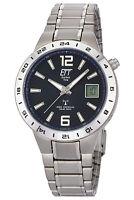 ETT ECO TECH TIME Funk-Solar Armbanduhr Titan EGT-11411-41M