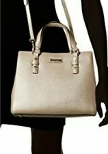 Brand NEW!  Calvin Klein CK Matilda Saffiano Taupe Handbag Purse retail $248