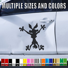 2 Pack Car Truck Van SUV Window Wall Cup Laptop Vinyl Decal Sticker Two 5 Inch Decals MKS0952 Tie Dye Monkey