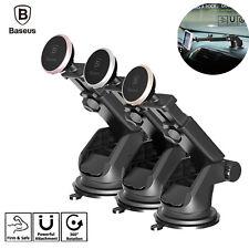 Baseus 360° Car Phone Holder GPS Mount Dashboard Telescopic Stand Magnet Bracket