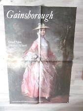 GAINSBOROUGH Thomas Très grande affiche originale 81 Comtesse Howe Mode Portrait