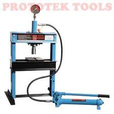 Pressa idraulica per officina 10t, corsa lavoro 135 mm , lung. di lavoro 358mm