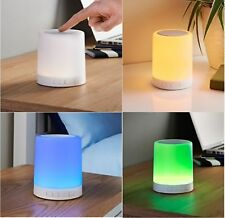 BOOM BEAT Bluetooth Speaker with LED Mood Light - Portable Touch