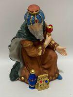 Kirkland Signature Porcelain Nativity Set #75177 Wiseman Replacement Figure #3