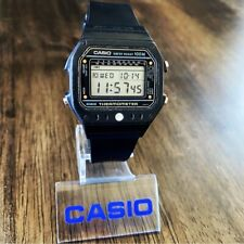 RARE Vintage 1982 Casio TS-1000 Digital Thermometer Watch Mod. 215 Made in Japan