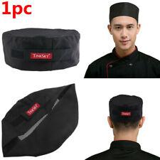 TINKSKY Adjustable Chefs Mesh Top Skull Cap Kitchen Restaurant Cook Catering Hat