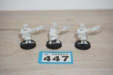 Warhammer 40k Vostroyan Firstborn Trooper x 3 Metal LOT 447