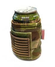 Multicam Usa (Fly your flag) Tactical Military Beer Soda Bottle Coozie Coolie