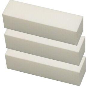 10 Buffer Weiß Schleifblock