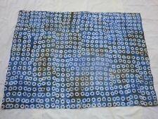 Vintage Tissu Batik en coton 174 cm x 129 cm ( jamais utilisé )