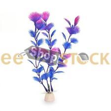 Plante aquatique violet Bleu Artificielle ESS TECH® Aquarium Décoration Ornement