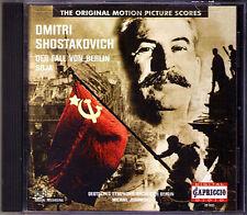 Mikhail Jurowski Shostakovich The Fall of Berlino soia film music CD il caso di