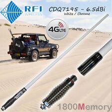 RFI CDQ7195 Multi-Band 6.5dBi Antenna White Q-Fit Removable Whip 3G 4G LTE 4GX