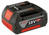 BOSCH BAT620 18-Volt Lithium-Ion 4.0Ah 18V Battery with Digital Fuel Gauge