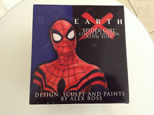 EARTH X SPIDER-GIRL BUST NEW ALEX ROSS DYNAMIC FORCES MARVEL SPIDER-MAN 12345678