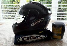 OGK FF3 Motorcycle Helmet Grey with Accessories Medium