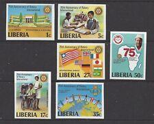 LIBERIA - 867-872 - (IMPERF) -  MNH -1980 - LAKE PLACID WINTER OLYMPICS