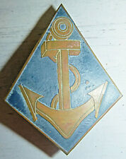 FOREIGN LEGION COLONIAL NAVY - Beercan Badge - French Indochina Vietnam War 1354