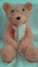 Beautiful Handcrafted Crocheted Teddy Bear