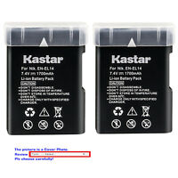 Kastar Replacement Battery for Nikon D5500 D5600 D3400 D3500 P7100 P7700 P7800