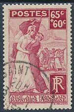 CO - TIMBRE DE FRANCE N° 401 oblitéré