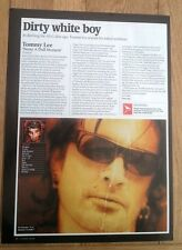 TOMMY LEE (Motley Crue) 'Never A Dull Moment' review UK ARTICLE / clipping