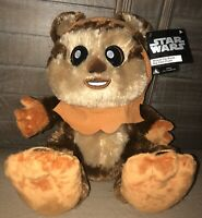 Disney Parks Star Wars Wicket Ewok Big Feet  Plush - NEW