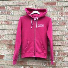 Women's Jack Wills Fleece Hoodie Size 10 Pink