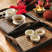Wooden Kitchen Serving Tray/ with Handles Tea Tray/ Breakfast Serving Tray S