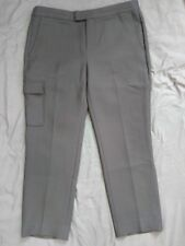 WOMEN'S 10 BANANA REPUBLIC HERITAGE COLLECTION POLYESTER WOOL BLEND BLACK PANTS