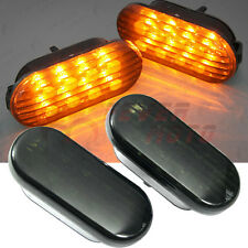 For 1999-2004 VW Jetta Bora Golf MK4 LED Side Fender Marker Light Turn Signal FM