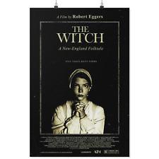 "The Witch (2015) Movie Poster 11""x17"" Robert Eggers, Anya Joy. Horror Film."