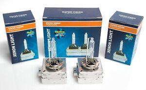 2x Original Super Vision D1S 35W 6000K Xenon Brenner Scheinwerferlampe Licht