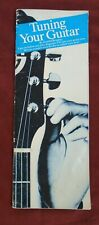 Small Booklet: Tuning Your Guitar by Brosnac